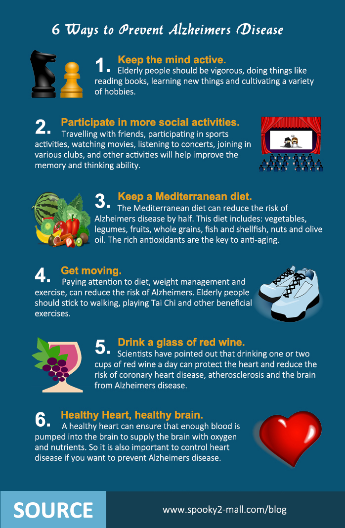 6 Ways to Prevent Alzheimers Disease