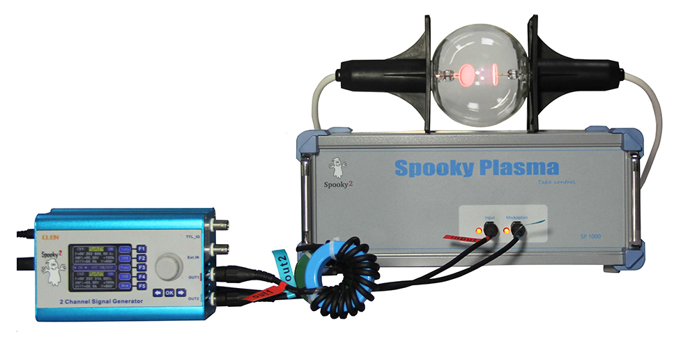 Spooky Plasma With Phanotron Tube Connection