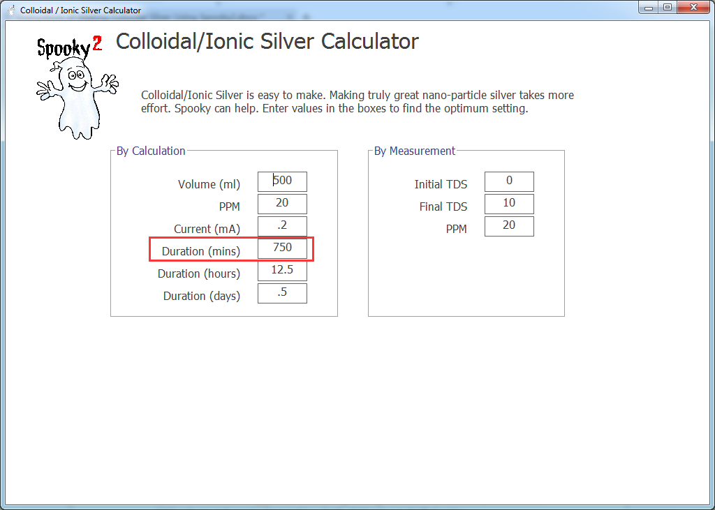 colloidal silver generator instructions